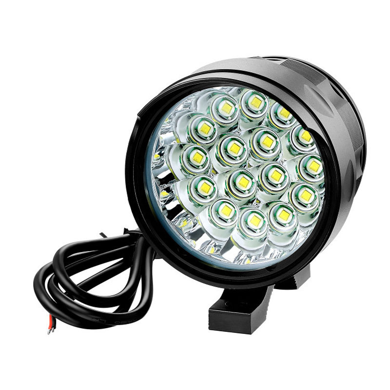 12V-85V DC 3-16 XML T6 LED Electric Bicycle Bike Ultra Bright Waterproof 3000-16000LM Powerful Headlight Motorcycle Light