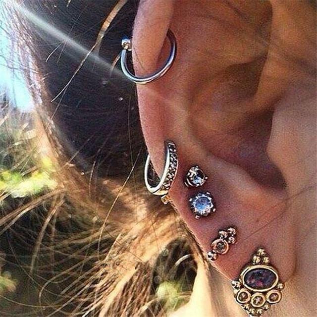 Stud Earring Set For Women