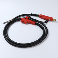 Professional Welding Torch Welding Gun 3M Air cooled Euro Connector for MIG MAG Welding Machine Carbon dioxide gas torch