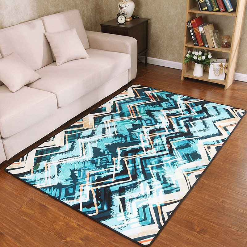 2017 New Fashion Creative colorful Simple Large Soft Carpet For Decorate Living Room Bedroom Kid Climb Delicate Personal Rug