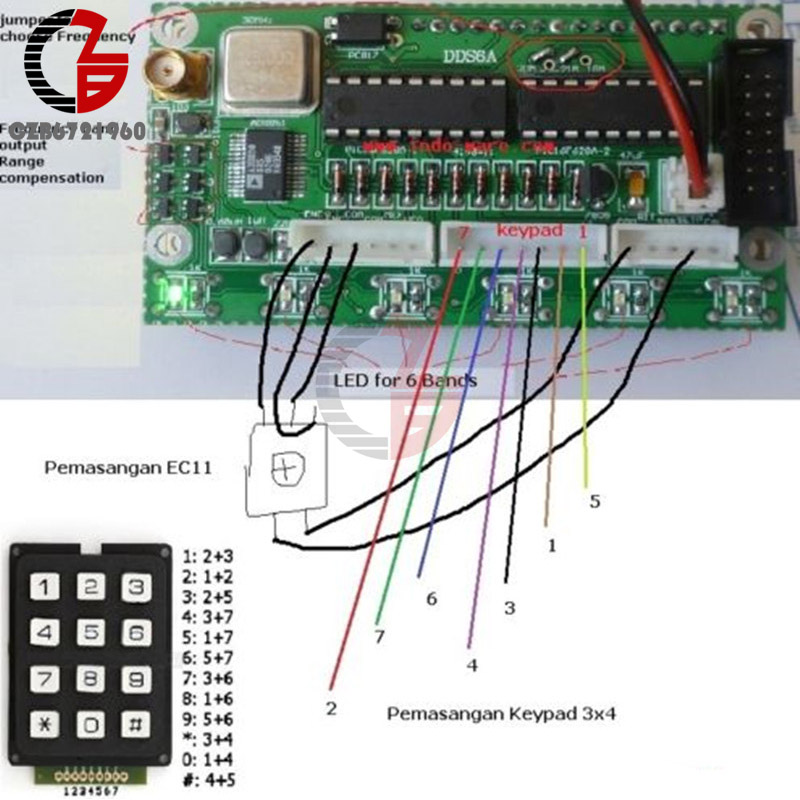 US $21 37 10% OFF DIY KIT 0 55MHz LCD Display DDS Signal Generator Module  Based AD9850 Frequency Generator DDS Function Signal Generator-in  Instrument
