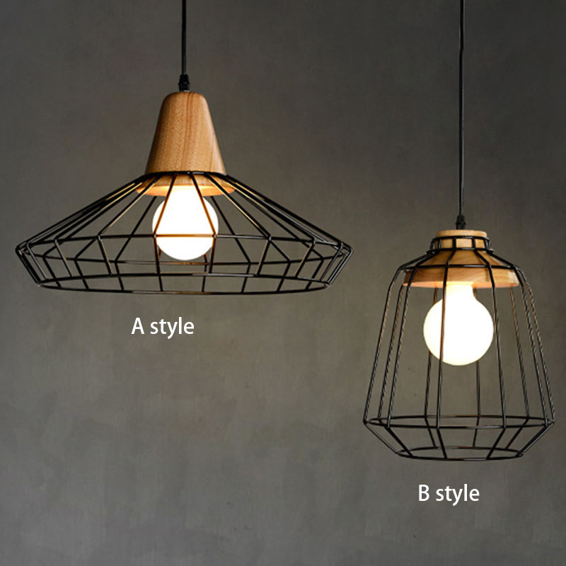 Retro Hanglamp Vintage.Us 47 79 Nordic Vintage Wood Pulley Pendant Light 90 260v Lamp Industrial Lighting Fixtures Retro Hanglamp For Bar Living Room Restuarant In Pendant