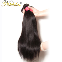 Nadula Hair Products 1 Piece Only Peruvian Straight Virgin Hair Weft 8 30 INCH Remy Human