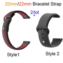 20mm Silicone Bracelet Band For Xiaomi Huami Amazfit GTS Bip GTR 42MM Watchband Amazfit Pace Stratos 2 GTR 47MM Watch Strap metal milanese loop band for xiaomi huami amazfit bip strap 20mm 22mm wrist band for amazfit gtr 47 47mm strap stratos 2 2s pace