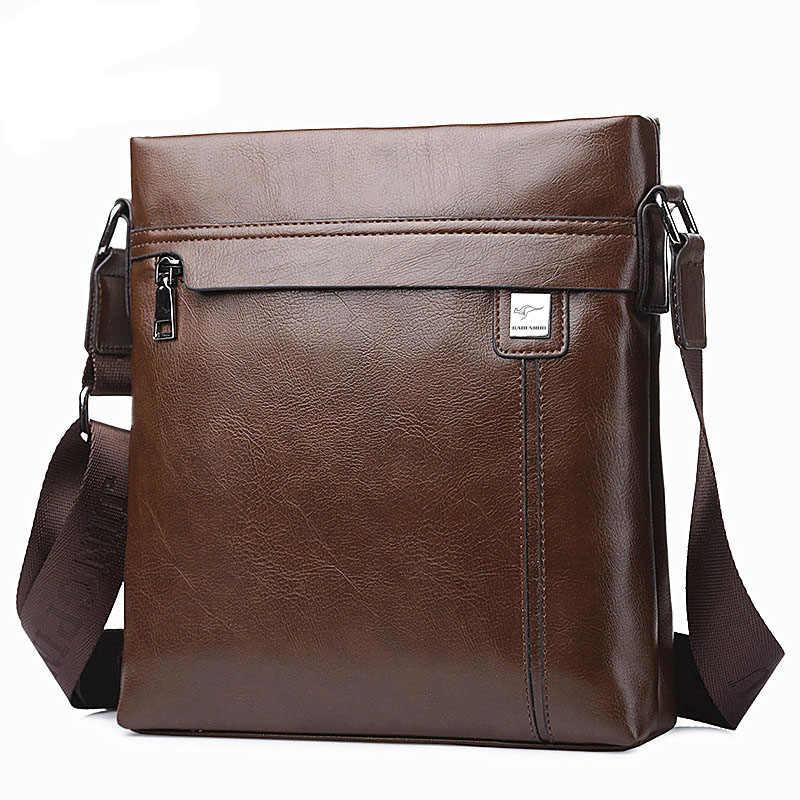 80a7449c4dec Новая мужская Сумка-кенгуру на одно плечо, мужская сумка-портфель, деловая  сумка
