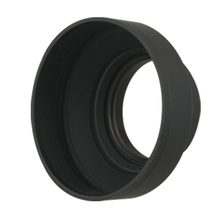 Model New 58mm Three Means Comfortable Rubber Lens Hood for Digital Movie Digicam
