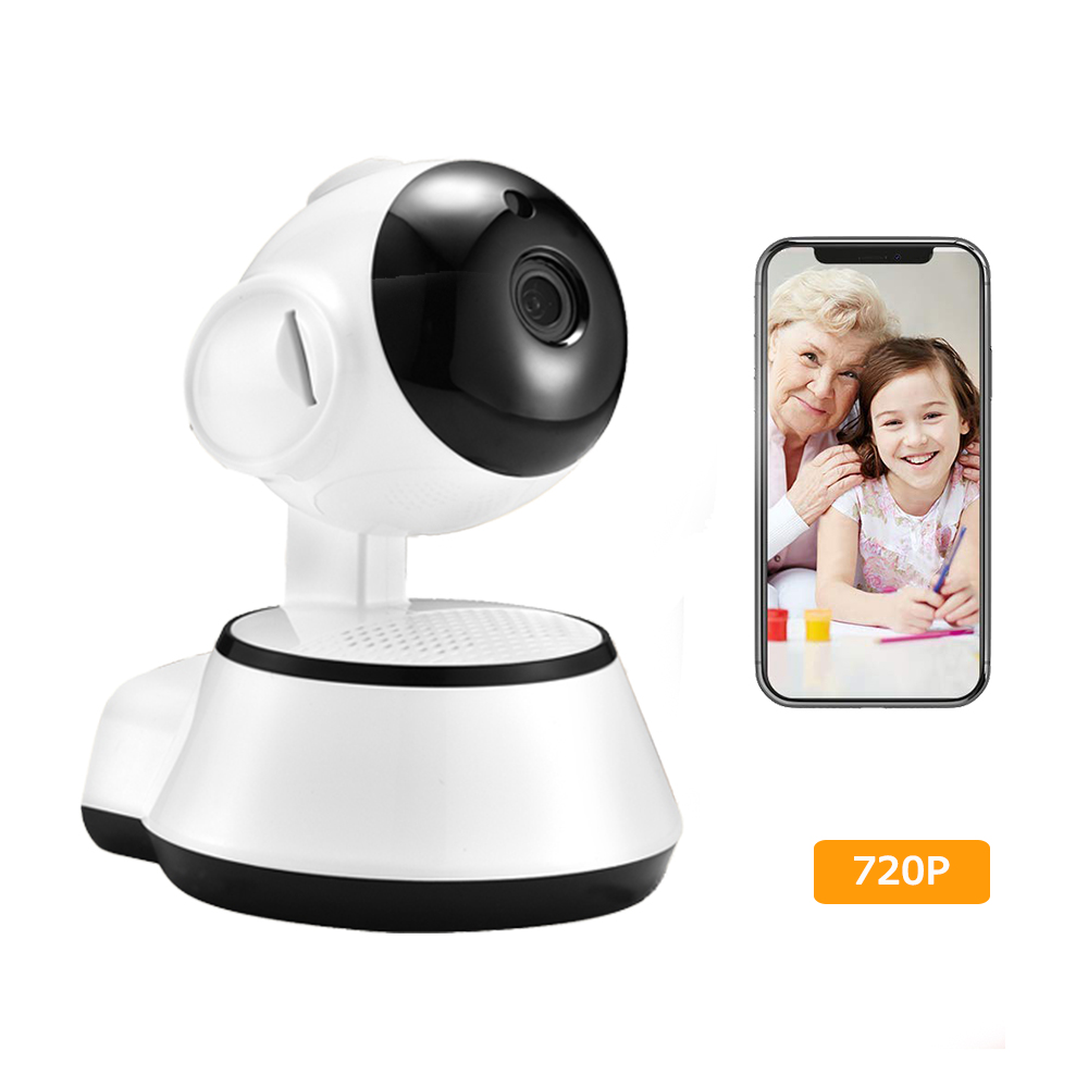 цена 720P Wireless WIFI IP Camera Home Security Pan/Tilt Camera w/ Night Vision Motion Detection Two-way Audio For Baby Elder Pet