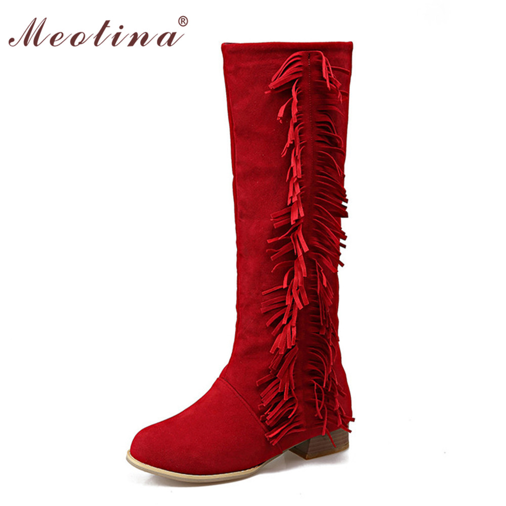Womens Knee High Flat Boots Size 11 Promotion-Shop for Promotional ...