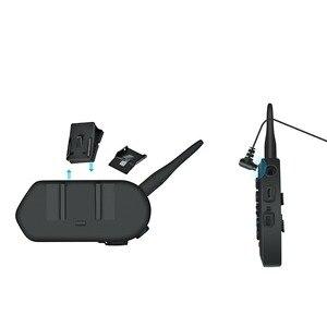 Image 4 - EJEAS E6 1200M 인터폰 오토바이 헬멧 블루투스 헤드셋 VOX MP3 GPS USB 550mAh 배터리 6 라이더 액세서리