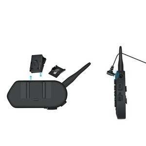 Image 4 - EJEAS E6 1200M interkom motosiklet kask bluetooth kulaklık VOX MP3 GPS USB 550mAh pil 6 biniciler aksesuarları