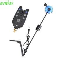 Fishing Alarm Set Include Carp Fishing Bite Alarm And Fishing Swingers Indicator Blue LED Color