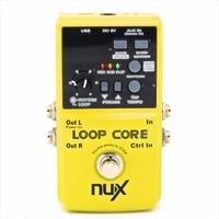 NUX Loop Core Guitar Effect Pedal 6 Hours Recording Time Durable Guitar Effect Pedal Compact Powerful