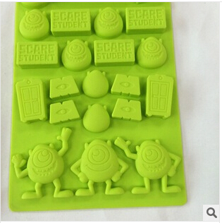 Wholesale 200PCS PoPeyes mould ice mold Silicone Ice Cube Tray Mold Maker Ice Cream Mold Maker Ice Mould Free Fedex/DHL nw88