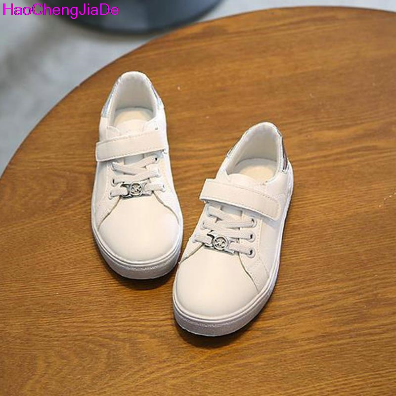 HaoChengJiaDe Kids Sport Shoes 2017 Casual Girl Shoes Outdoor Lace up Girls  Designer Shoes Glitter Footwears EUR Size 26 30 115-in Sneakers from Mother  ... 4644dbe9c4c7