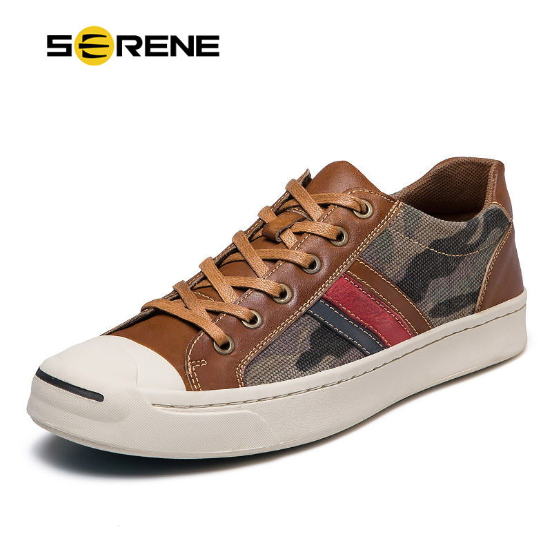 SERENE Brand 2018 Fashion Mens Shoes Fabric Mesh Leather Canvas Casual Sneakers Rubber Footwear High Top Lace-Up Black Shoe Men new fashion high top casual shoes for men pu leather lace up all white black color mens casual shoes men high top sneakers