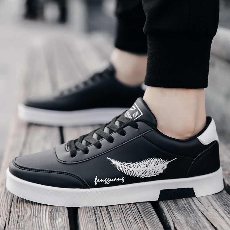 Nuevos zapatos de primavera para hombres, zapatos casuales para hombres, zapatillas de marca para hombres, zapatos casuales de cuero para hombres, zapatos para caminar al aire libre para adultos