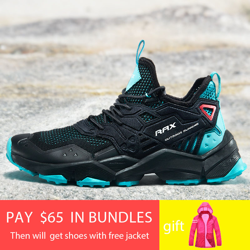 Rax Men Hiking Shoes 2019 Spring Summer New Style Breathable Outdoor Sports Sneakers for Men Lightweight