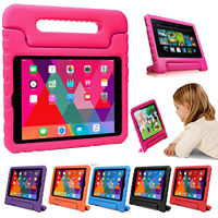 Kids Children Safe Rugged Proof Foam Case Handle Stand For Apple IPad 6th 9 7 2018