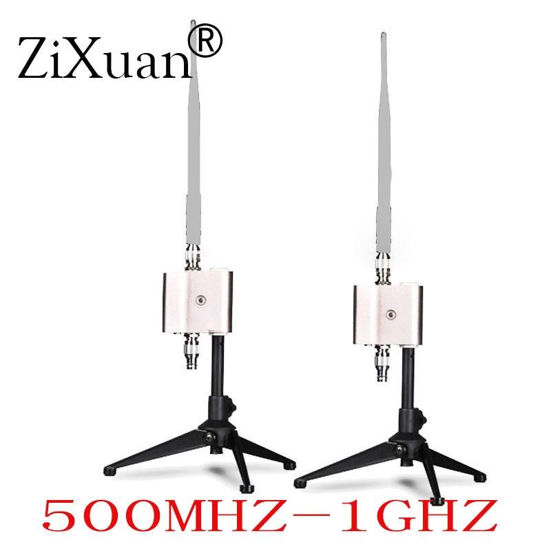 Amplificateur de amplificateur de Signal damplificateur dantenne de Microphone sans fil professionnel augmentant le Signal 500 MHZ-1 GHZAmplificateur de amplificateur de Signal damplificateur dantenne de Microphone sans fil professionnel augmentant le Signal 500 MHZ-1 GHZ