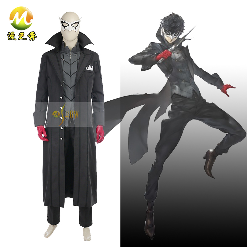 Top Quality Persona 5 Akira Kurusu Cosplay Costume Persona 5 JOKER Ren Amamiya Costume For Halloween Party Christmas Costume