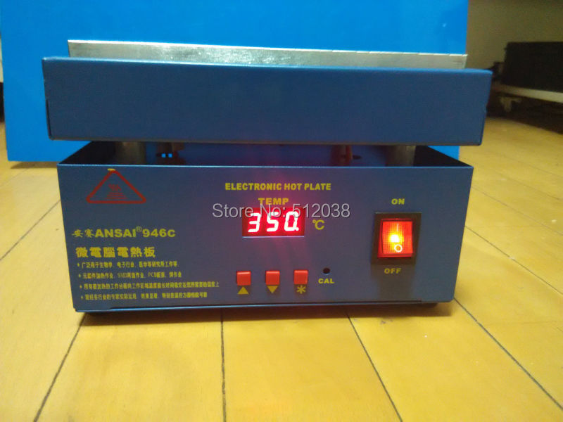 Thermostatic Electronic Hot Plate Preheat Preheating Station 220v/110V 20*20cmThermostatic Electronic Hot Plate Preheat Preheating Station 220v/110V 20*20cm
