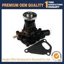 NEW FOR YANMAR 4TNE88 WATER PUMP 129002-42004, YM129002-42004 EXCAVATOR KOMATSU JOHN DEERE TAKEUCHI MUSTANG