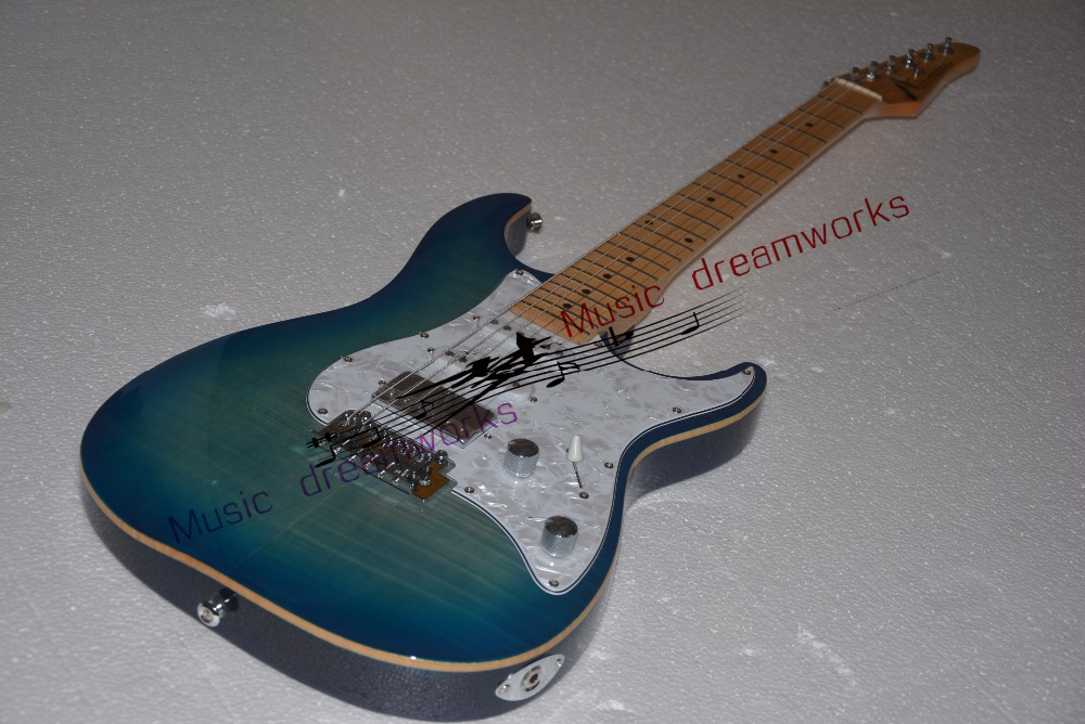 China OEM firehawk electric guitar, The color can be customized, logo can be customized., ems free shipping. image