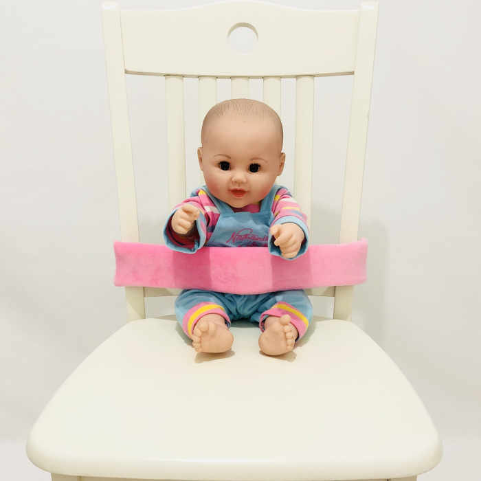 Черного, серого и синего цвета детская корзина проводов безопасное детское сидение сон подушка помощи для малышей и детей постарше головка Поддержка держатель Регулируемый ремень - Цвет: Pink