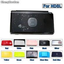 ChengHaoRan Gehäuse Shell Tasche Full Set mit Tasten Schrauben Kit Ersatz Für Nintendo DS Lite NDSL Spielkonsole