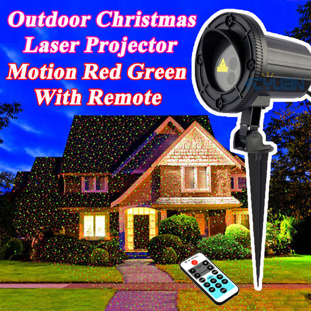 Outdoor Laser Holiday Lights Waterproof holiday light outdoor christmas laser projector fairy waterproof holiday light outdoor christmas laser projector fairy lights motion red green mix with remote decorations workwithnaturefo
