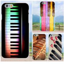 Art On Sale Luxury Phone Case Rainbow Piano Keys Music Lover For Xiaomi Redmi Note 2 3 3S 4 4A 4X 5 5A 6 6A Pro Plus(China)