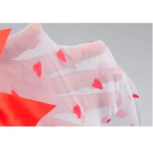 e20b650d261 Online Shop Sweet lady women Red Bow Thigh High Socks Knee Socks Love Heart  Pattern Long Sheer Sexy Stockings For Women Gift
