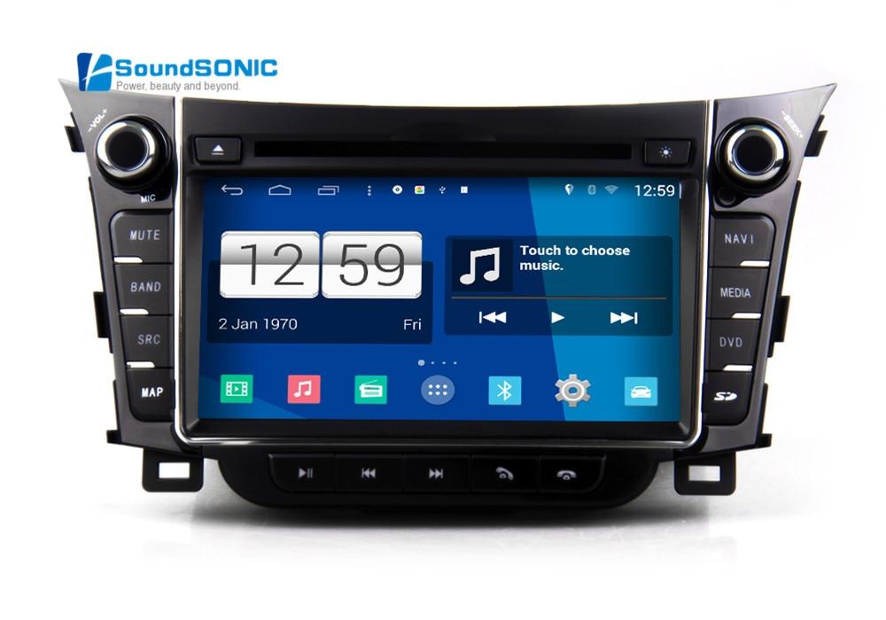 for hyundai i30 2012 2014 android 4 4 car audio radio. Black Bedroom Furniture Sets. Home Design Ideas