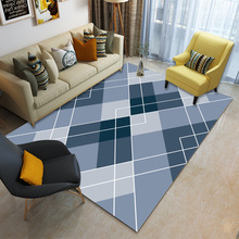 Modern Nordic Living Room Carpet Anti-Slip Soft Kids Carpets Area Rugs Bedroom Floor Mats Large Home European