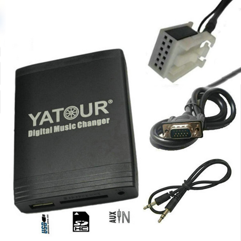 Yatour YT-M06 for VW passat Jetta Golf Polo Tiguan Audi A3 A4 S4 Skoda Seat Car MP3 Player USB AUX SD Adapter Digital CD changer yatour car bluetooth adapter kit for factory oem head unit radio for audi for skoda for vw golf eos jetta passat touareg touran