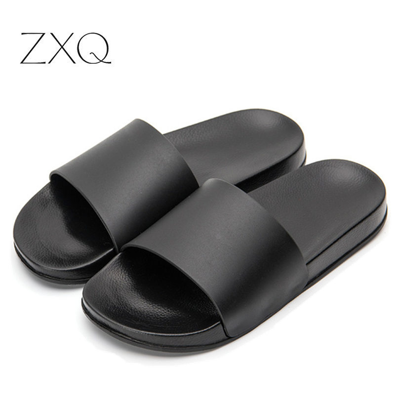 2019 New Men PVC Holiday Beach Shoes Slippers Men's Comfortable Shoes Sandals Summer Slippers For Men