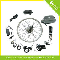 DIY Ebike Conversion Kit With 36v 10ah Lithium Battery