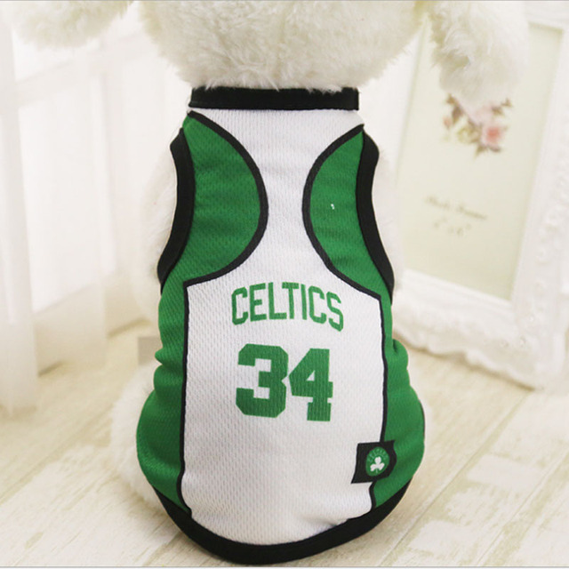 f433ca9d5 Dog Clothes For Small Medium Large Dogs Sports Dog Vest Cat Shirt Pet  Clothing Summer Cotton Sweatshirt Football Jersey XS-4XL