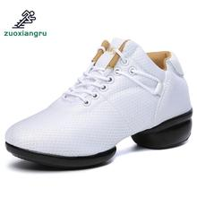цена на Women Mesh Jazz Majoring In Pop Dance Sneakers Shoes Lady Sports Dance Shoes Female Modern Street Dance Shoes Comfortable
