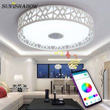 Surface Mount Modern Led Ceiling Light APP With Control Chandelier Lamps For Living room Bedroom Dining