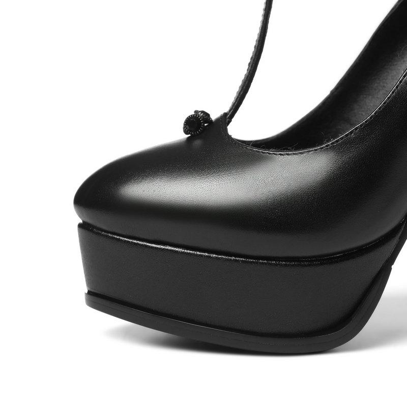Haute Vache Cuir Mouton Simple Talons Partie Chaussures Mariage Salu En Peau blanc Mode Bureau De Pompes Couleurs Noir 2 Réel BXq0wxEpx
