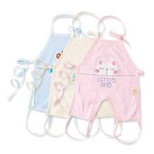 6-12 M de Alta Qualidade Bebê Babadores Para Bebês de Algodão Puro Pano De Alimentação Do Bebê Dos Desenhos Animados Crianças Bebê Almoço Babadores da Alimentação Avental Babador de bebe
