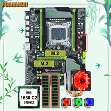 Discount motherboard bundle dual M.2 slot HUANANZHI X79 Pro motherboard with CPU Xeon E5 1650 C2 3.2GHz cooler RAM 32G(2*16G)(China)