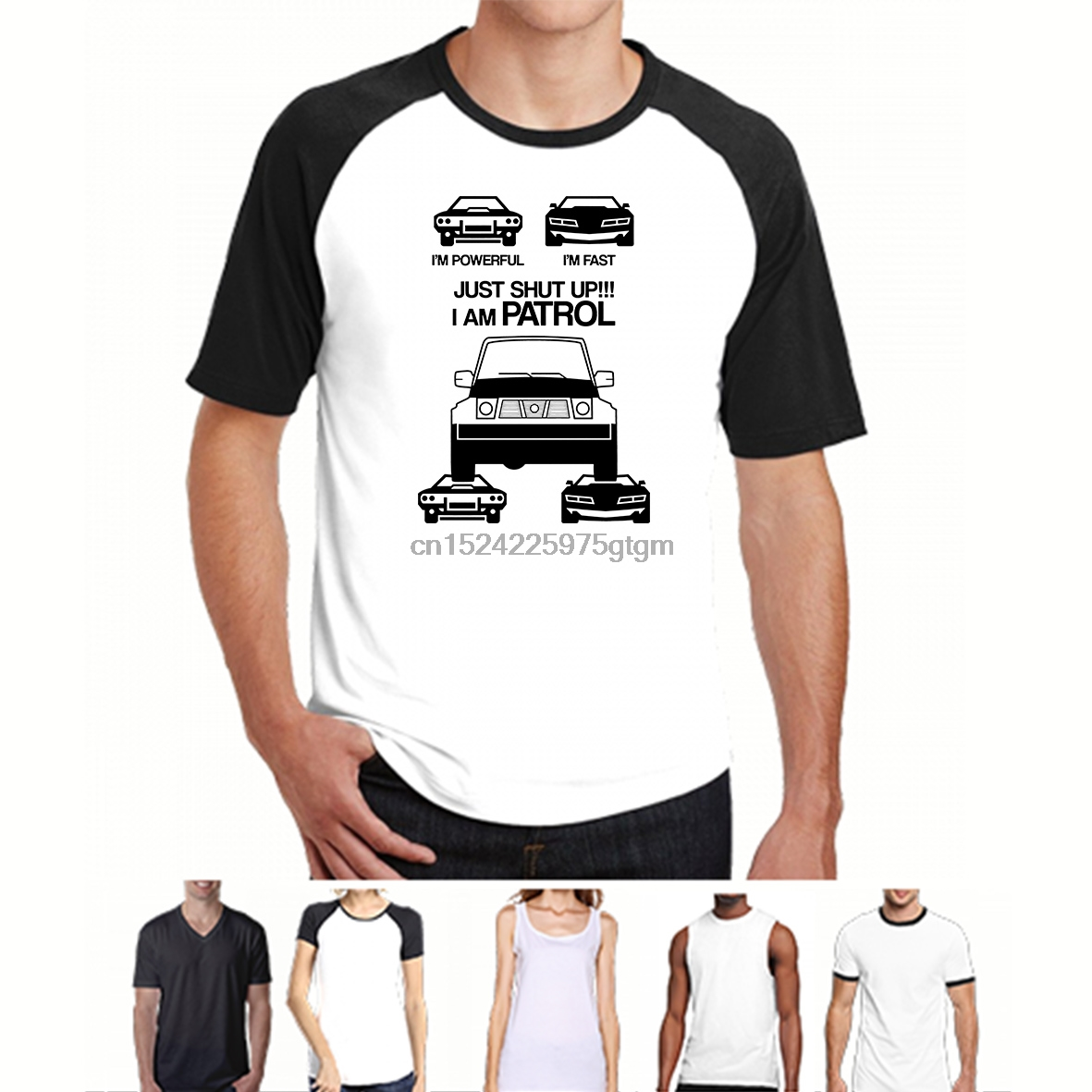 Nissan Patrol Premium Mens T-shirt Fashion Tee Shirt Casual Funny Tops Clothing 1 Be Novel In Design
