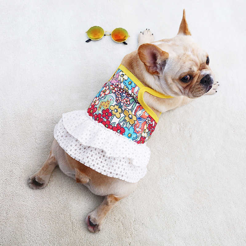 34413914c2528 Detail Feedback Questions about Cute Summer Dog Dress Pet Dog ...