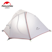 Naturehike Wind Wing 210T/20D Polyester Ultralight Portable Double Layers Outdoor Camping Waterproof Tents For 1 2 Persons
