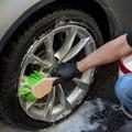 Простая прочная и безопасная нейлоновая щетиная щетка  легче носить с собой или повесить щетку для очистки шин