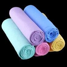 44*32*0,2 CM Super sauber PVA Chamois Car Wash Handtuch Reiniger Auto Zubehör Bildschirm Reinigung Haar Trocknen tuch