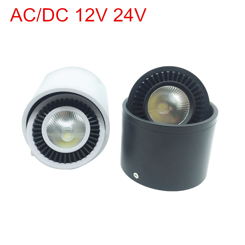 COB <font><b>LED</b></font> Recessed Downlights <font><b>12V</b></font> 24V <font><b>5W</b></font> 7W 9W 15W Surface Mounted <font><b>LED</b></font> Ceiling Lamps <font><b>Spot</b></font> Light 360 Degree Rotation <font><b>LED</b></font> Downlight image