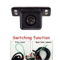 Switching function Car rear view camera / front form camera Parking system assistance Vehicle CCD Backup reversing camera
